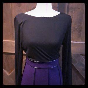 Phoebe Couture Long Sleeve Wool Blend Dress Sz10